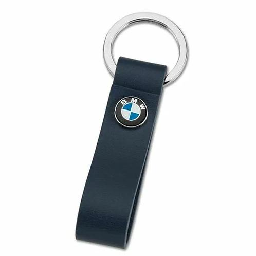 Кожаный брелок BMW