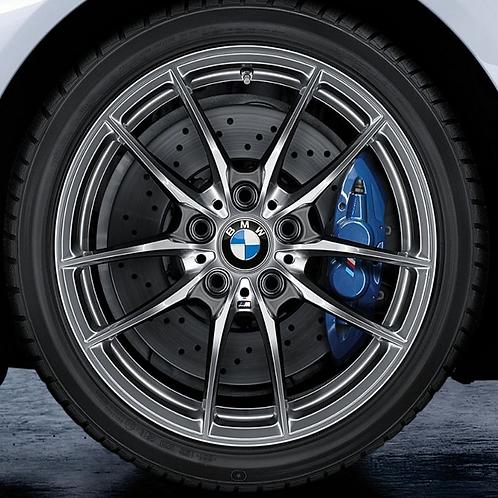 Комплект зимних оригинальных колес V-Spoke 640M F82