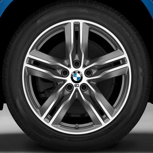 Комплект зимних оригинальных колес Double Spoke 570M F39