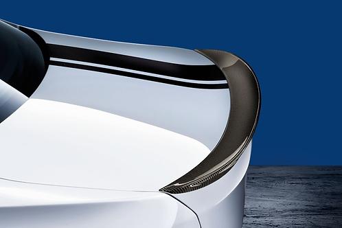 Задний карбоновый спойлер BMW M Performance F30/F80