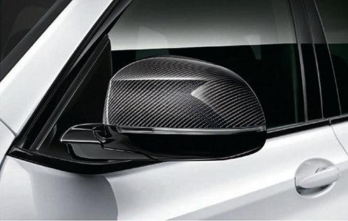 Карбоновые накладки на зеркала M Performance BMW G01