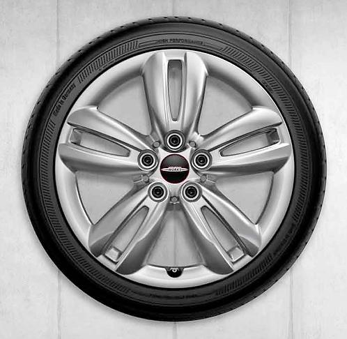 Комплект зимних оригинальных колес JCW Track Spoke 501 F55/F56/F57