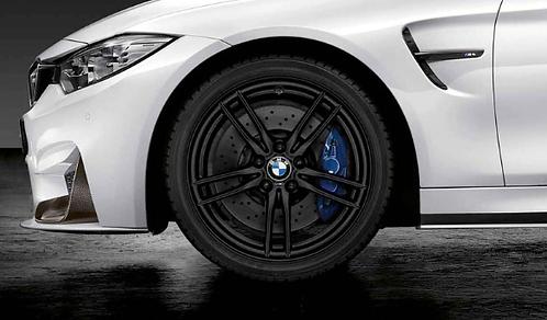 Комплект зимних оригинальных колес V-Spoke 641M Black matt  F80