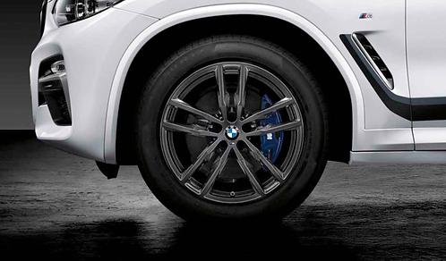 Комплект летних оригинальных колес Double Spoke 698M X3 G01