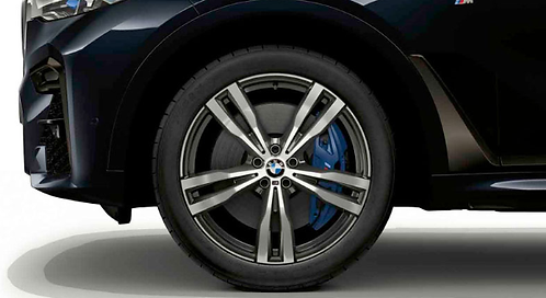 Комплект зимних оригинальных колес Double Spoke 754M G07