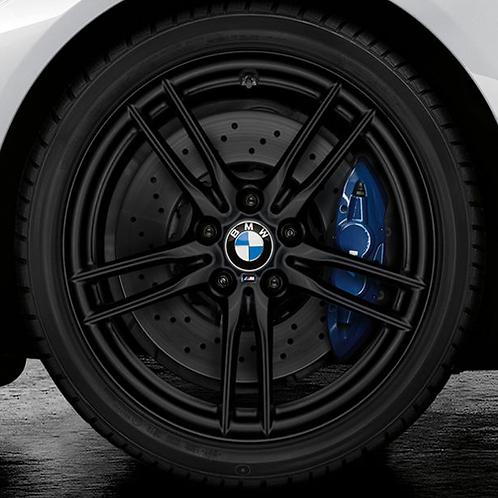 Комплект зимних оригинальных колес V-Spoke 641M Black matt  F82