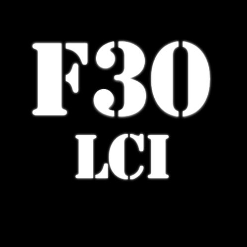 Щетки стеклоочистителя 3 Серии F30 LCI