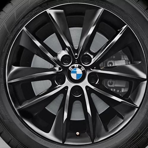 Комплект зимних оригинальных колес V-Spoke 307 BLACK F26