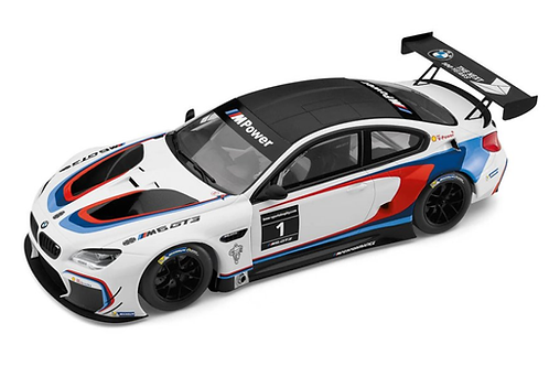 Оригинальная модель BMW M6 GT3  White 1:18