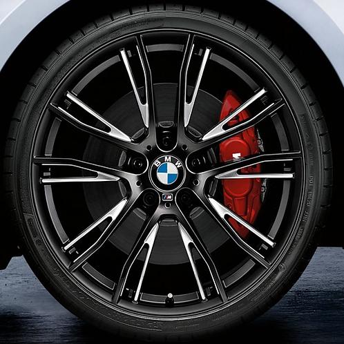 Комплект летних оригинальных колес Double Spoke 624M Black  F20/F21