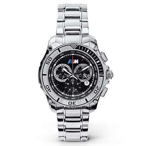Часы BMW M с металлическим браслетом