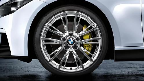 Комплект летних оригинальных колес Double Spoke 624M Performance F20/F21