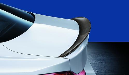Задний карбоновый спойлер BMW M Performance F32