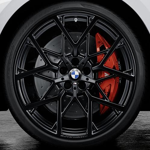 Комплект летних оригинальных колес Y-Spoke 795 M Performance Black Matt G22