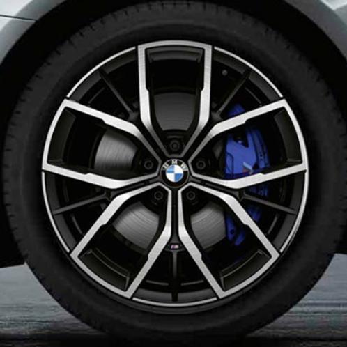Комплект оригинальных колесных дисков Y-Spoke 845 M Bicolor G30