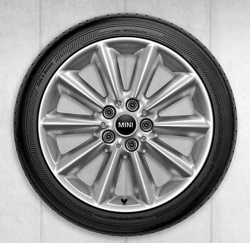 Комплект летних оригинальных колес Vent Spoke 518