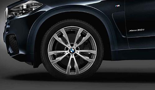 Комплект зимних оригинальных колес Double Spoke 469M F15
