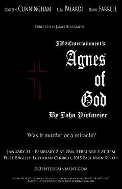 Agnes Of God Official Poster 11x17_edite