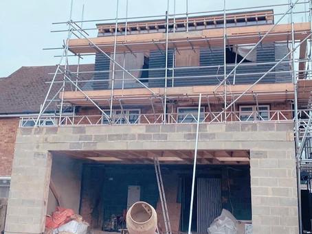 Wingletye Lane site progress