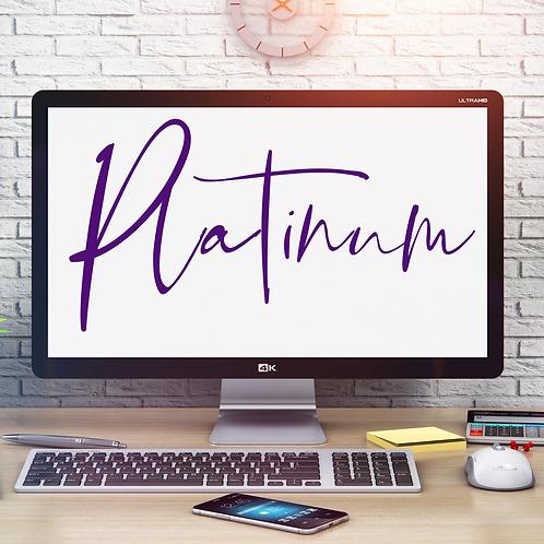 Platinum Website Desig(E-Commerce)