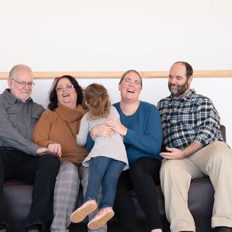 the sutphen family   indoor family portrait session   burnsville, mn