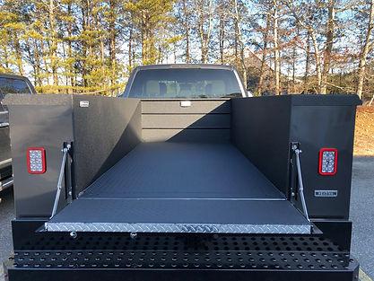 Rhino Lining Utility Truck