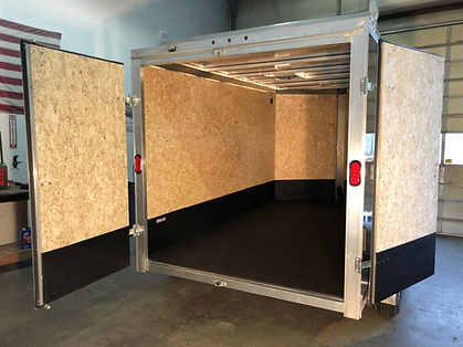 Rhino Lining Enclosed Trailer