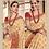 Thumbnail: Joh Rivaaz Designer V-II Exotic-Baidge Exclusive Saree - 4512