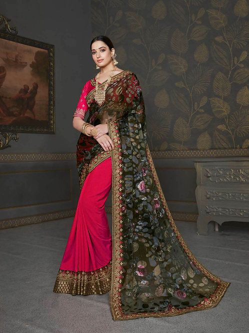 Joh Rivaaz Designer Exclusive Saree - Traditional Glamour
