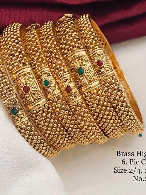 High Golden Polish 6pc Bengal Set