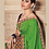 Thumbnail: Joh Rivaaz Designer V-II Rich-Green Exclusive Saree - 4507