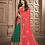 Thumbnail: Joh Rivaaz Designer V-II Splendid-Two-Tone Exclusive Saree - 4514
