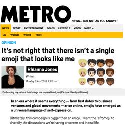 Metro.uk Afromoji Op-Ed