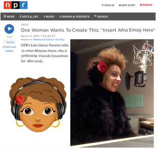 NPR Interview - One Woman Wants to Create This