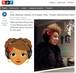NPR Afromoji Interview