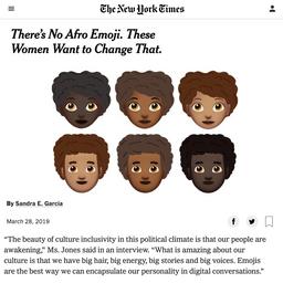 Afromoji NYT