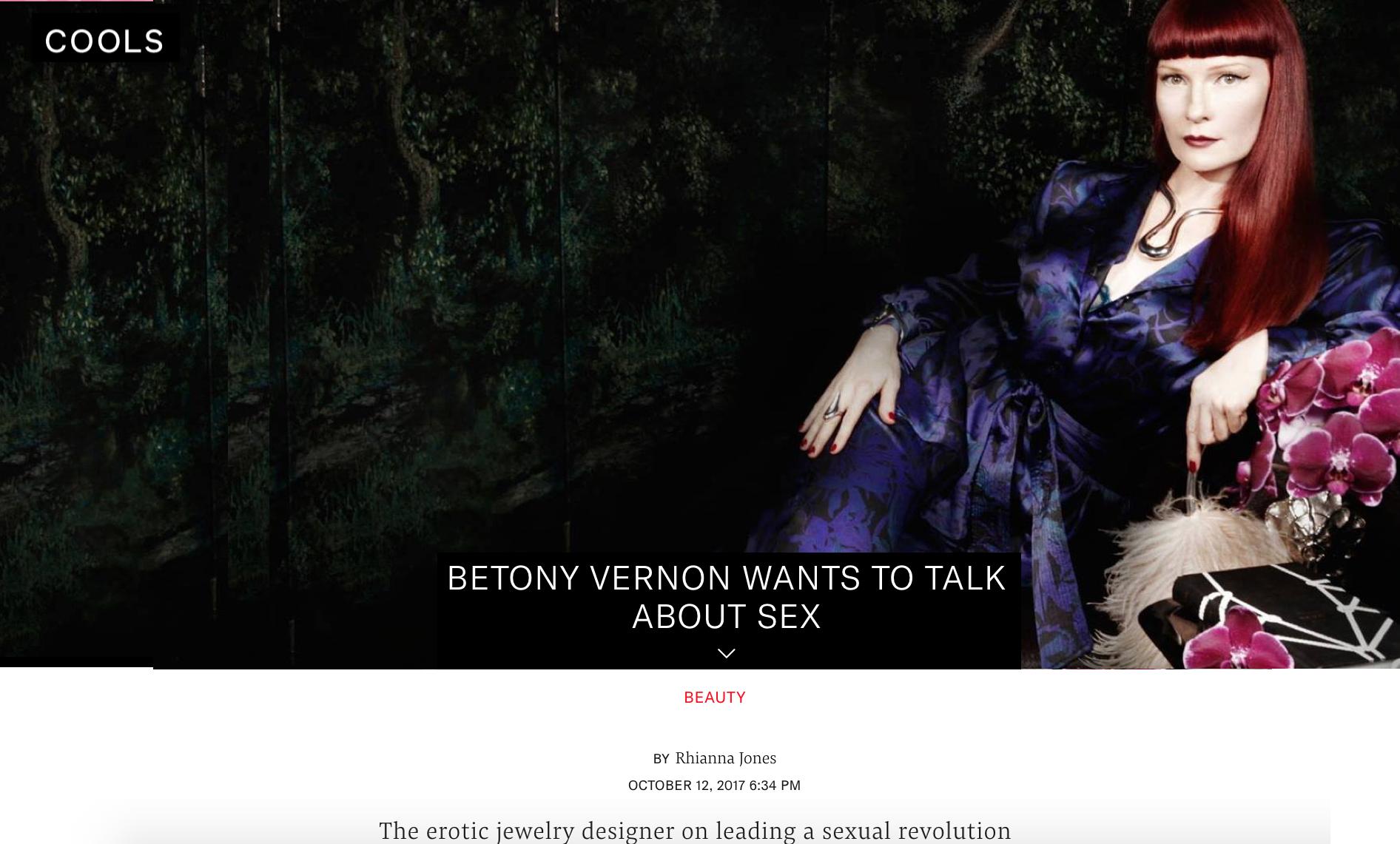Betony Vernon | COOLS