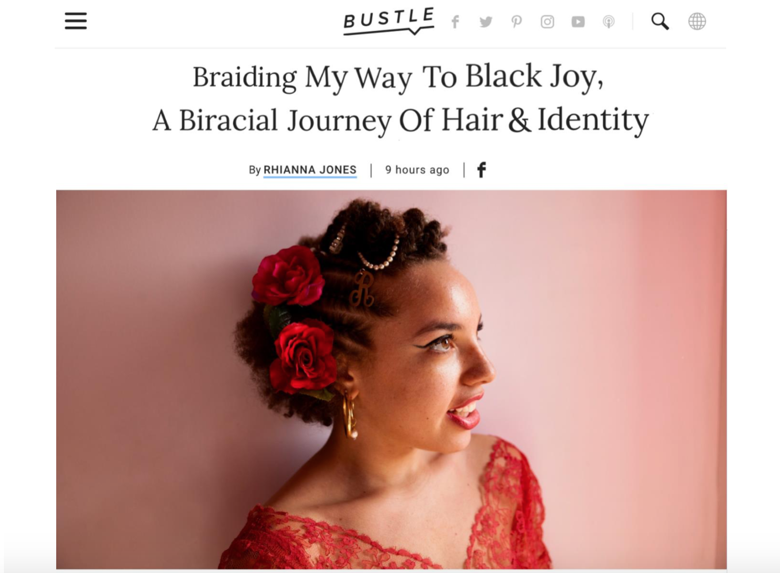 Bustle Mag Braids Story