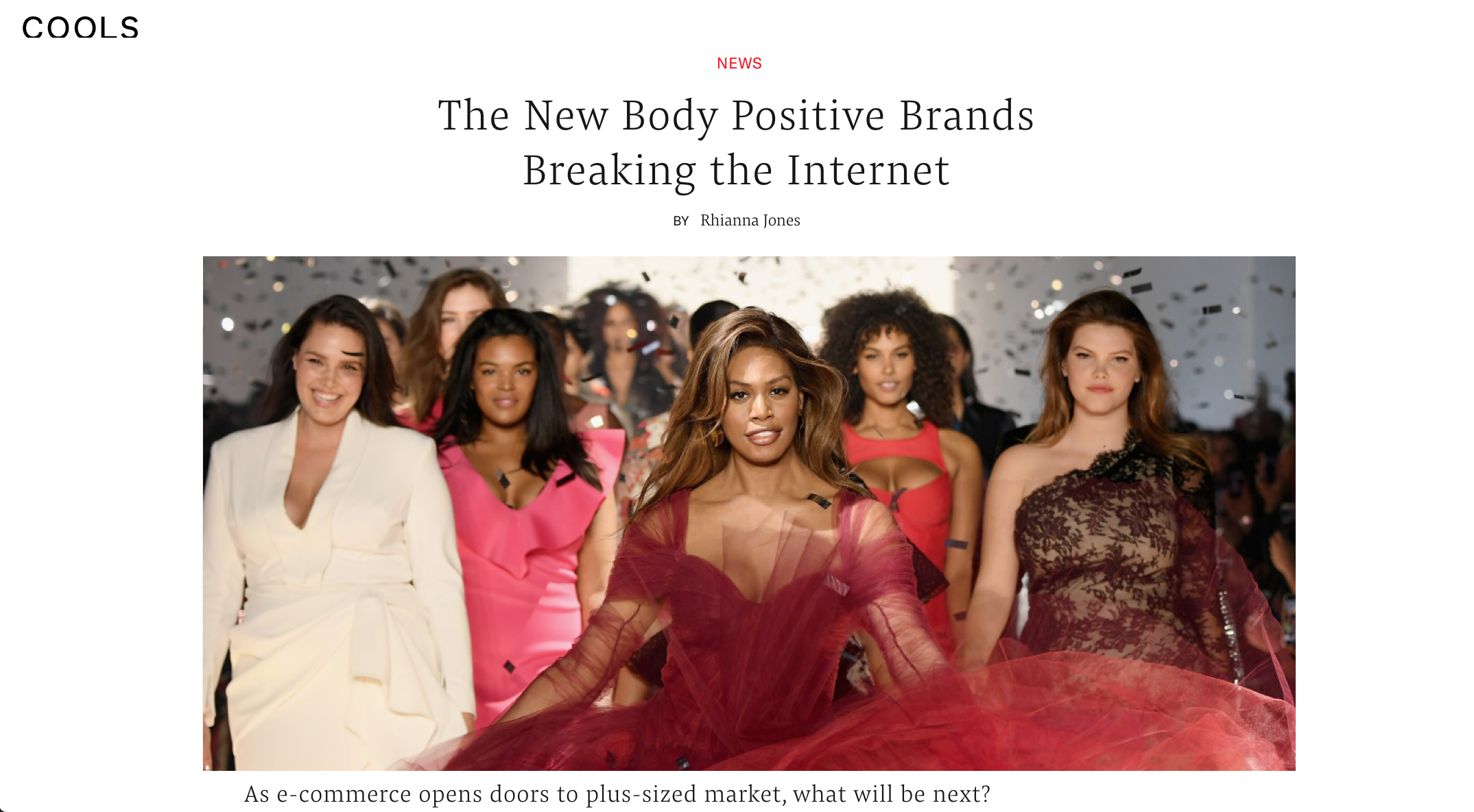 Body Positive Breaking the Internet