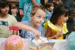 festa infantil buffet no galpão