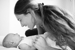mãe e bebê