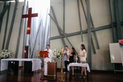batizado cruz torta
