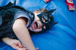 festa infantil em casa batman
