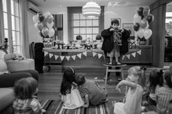 festa infantil em casa show de mágica
