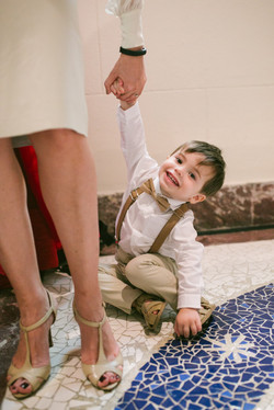 menino batizado