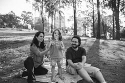 ensaio de familia no parque