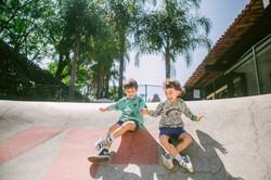 fotografia ensaio infantil pista de skate