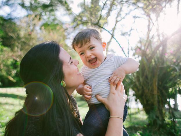 Puro amor · ensaio de bebê