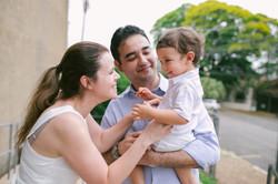 família batizado