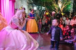 festa infantil show princesas